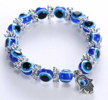 Stretchy Evil Eye Bead Bracelet