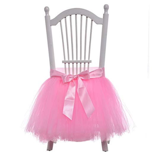 Tutu Chair Skirt for Birthday Girl or Mommy-To-Be