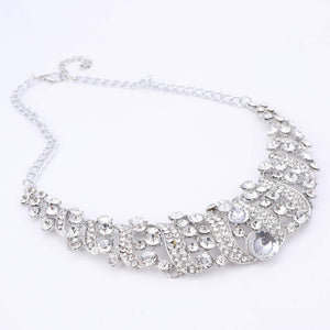 Classy Crystal Necklace