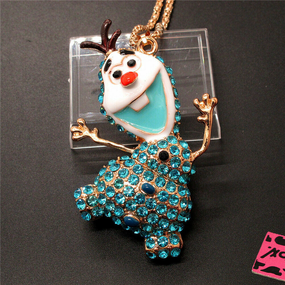 Betsey Johnson Olaf Necklace