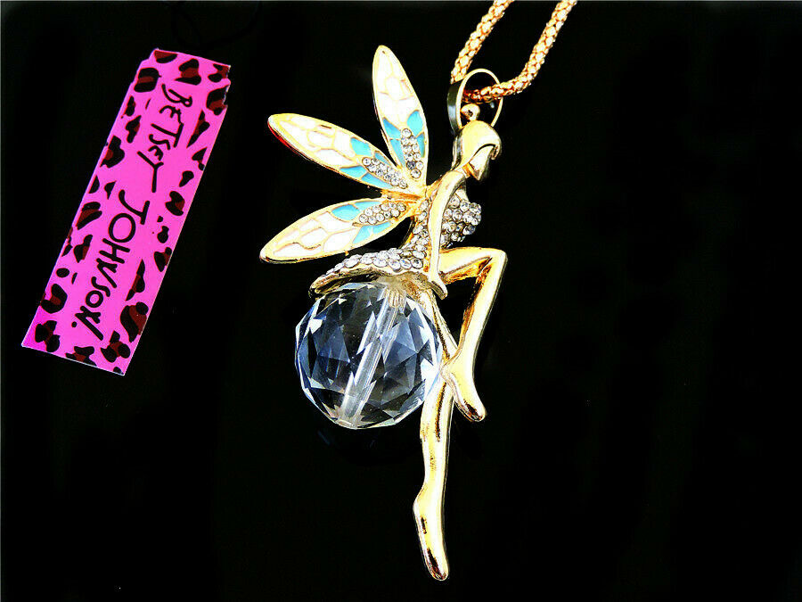 Betsey Johnson Fairy with Crystal