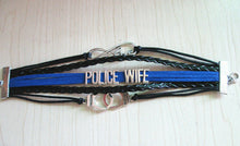 Police Wife Leather Bracelet