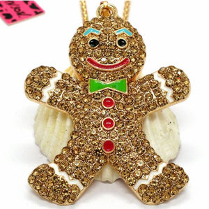 Betsey Johnson Gingerbread Man