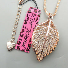 Betsey Johnson 3D Leaf Necklace
