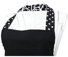 Copy of Black Apron with Polka Dots