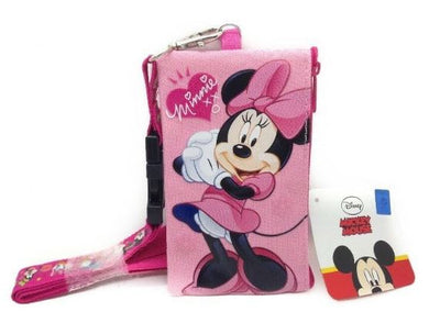 Minnie Mouse Lanyard & Zippered Pouch