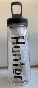 Camo Sports Bottle with Pop Up Straw