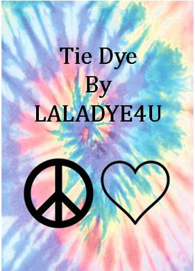 Tie Dye Kitchen Towel