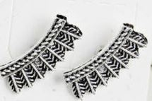 Curved Tribal Earrings