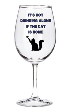 It's Not Drinking Alone If the Cat is Home