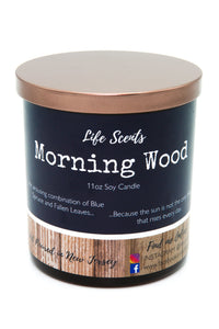 Morning Wood - Spruce & Falling Leaves Scented Candle