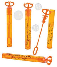 Bubbles - 2 Dozen, Personalized Double Hearts (choose tube color)