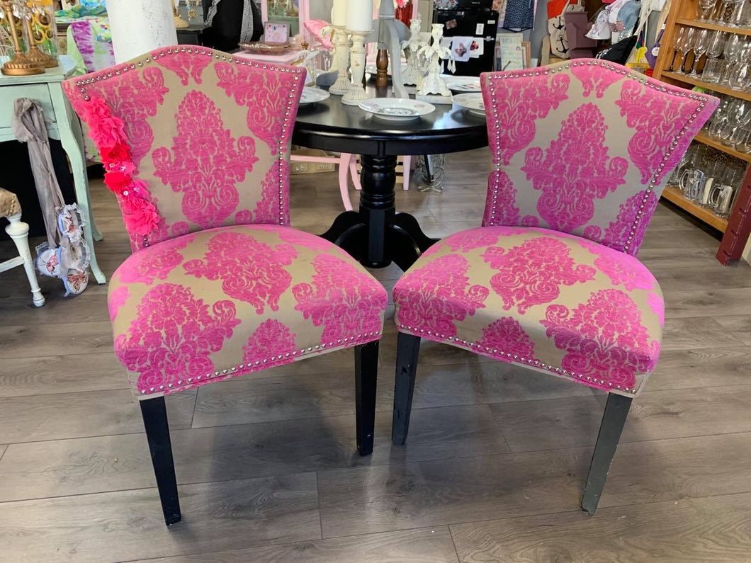 LSI - Pair of Pink Chairs