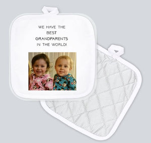 Potholder - We have the best grandparents in the world!