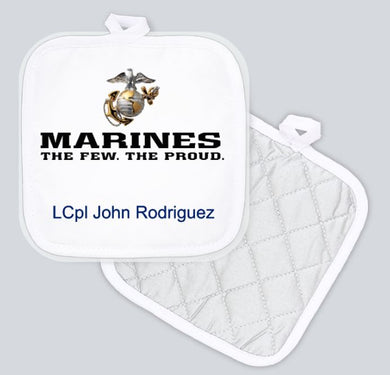 Potholder - Marines