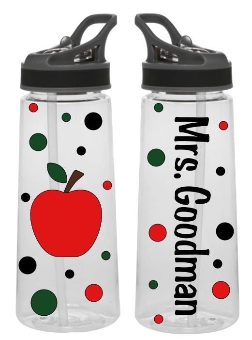 Teacher Gift - Sports Bottle - Personalized