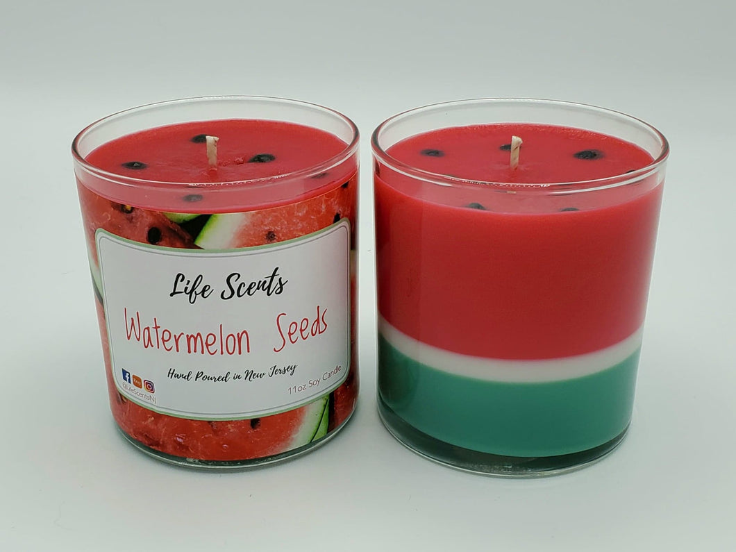Watermelon Seeds Candle