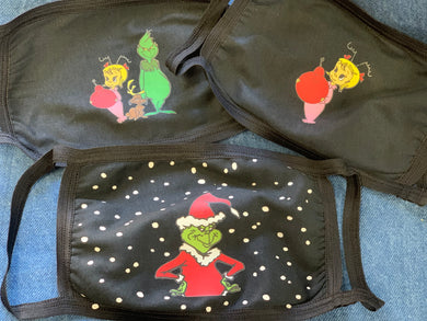 Grinch and Co Masks