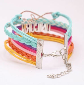 Unicorn Rainbow Bracelet