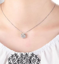 Star of David Necklace, Sterling Silver