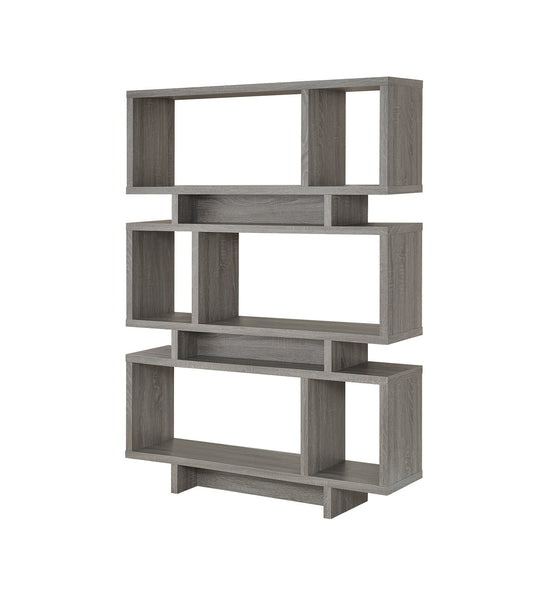 Weathered Grey Home Office : Bookcases Bookcase