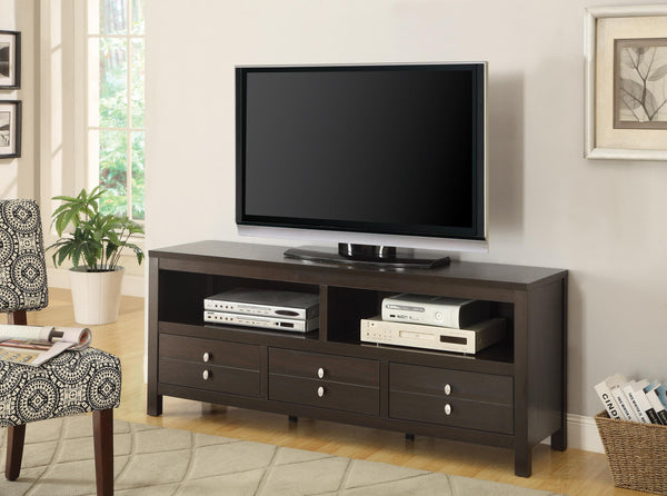 Cappuccino Casual Living Room : Tv Consoles Tv Console – Modern ...