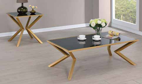 Living Room Glass Top Occasional Tables End Table Modern Matters