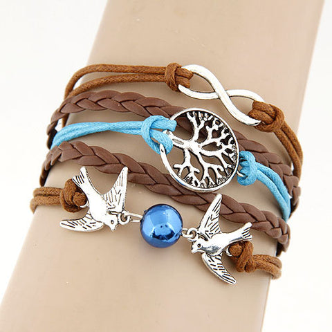 Trendy Multi-Layer Charm Bracelet (Free Shipping Worldwide)