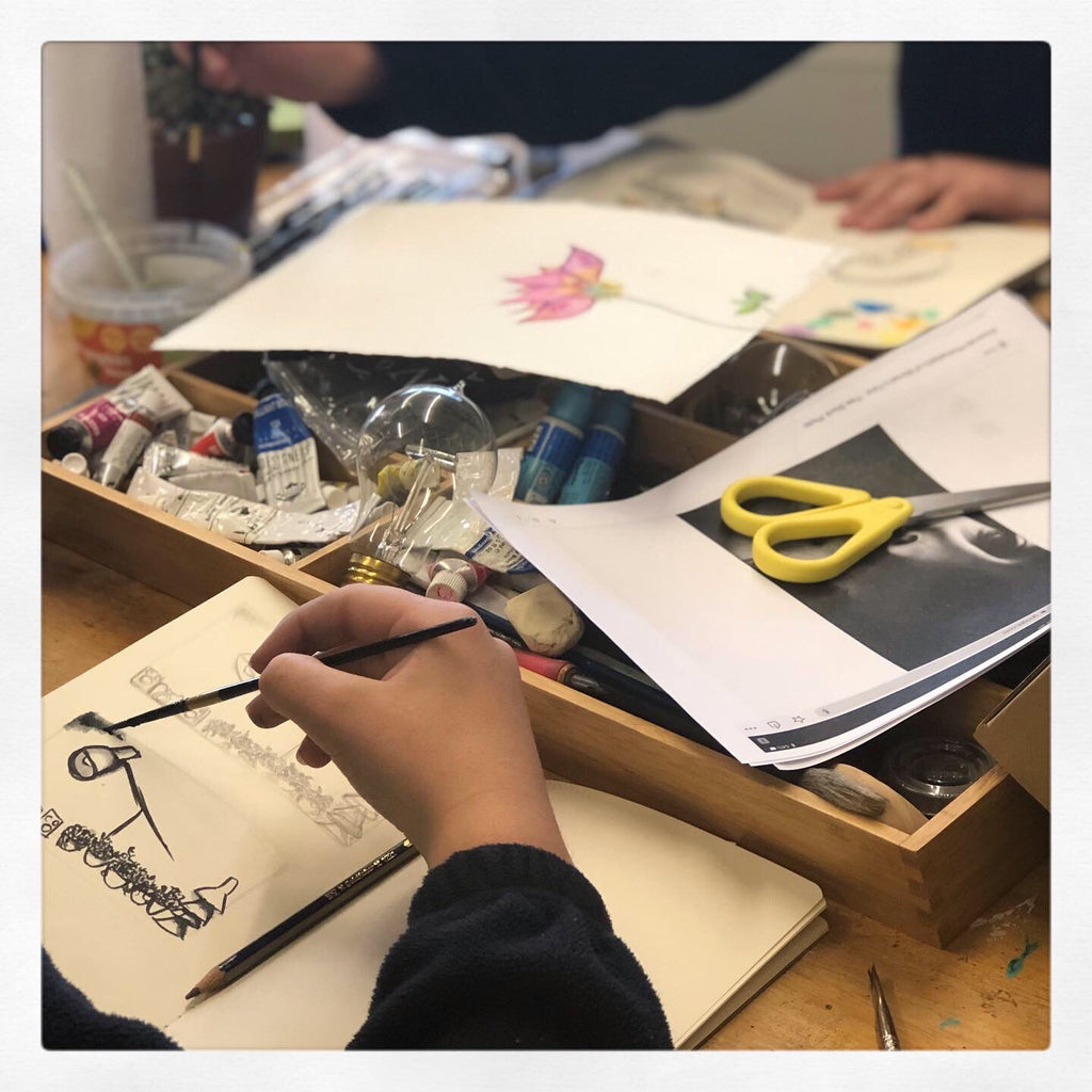 Teens Wednesday art sessions - starting February 12