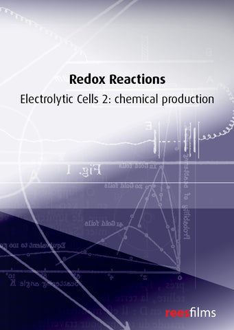 Redox Reactions: Electrolytic cells 2: chemical production
