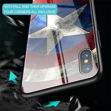 Marvel / DC Superhero Theme Tempered Glass Samsung Galaxy Case - S10 5G, Note 10, Plus, Pro