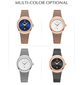 NAVIFORCE Fashionable / Elegant, Slim Quartz Analog Dress Watch - Ladies / Women's