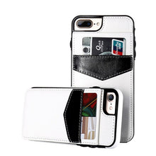 KISSCASE Retro Vertical PU Flip Leather Case for Apple iPhone (12, 11, X, XR, XS, 8, 7, 6, Plus, Max, Pro, SE) - Dirt Resistant, Card Holder