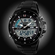 SKMEI Sports Dual Display (Analog / Digital) Japanese Quartz Watch - Men's, Water Resistant (50m)