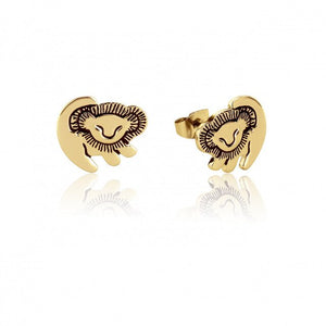 "DCARZZ Cute Stainless Steel Lion King ""Simba"" Stud Earrings - Ladies / Women's"