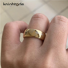 KNIGHTODE Fantasy, Lord of the Rings, 8mm Tungsten Carbide (The One Ring / Ring of Power) - Unisex
