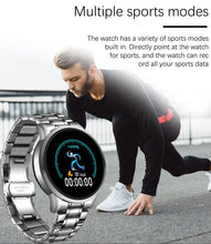 LIGE Stylish / Sports, Stainless Steel, Touch Screen Smart Watch / Smartwatch - Unisex, Android, Apple