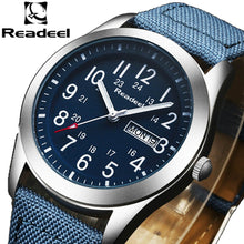 Readeel Luxury / Fashion, Stainless Steel Analog / Quartz Watch - Men's / Gents, Water Resistance 30m