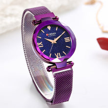 CURREN Luxury / Fashion Japanese Quartz, Steel Mesh Starry / Diamond Theme Watch - Ladies / Women's, Water Resistant