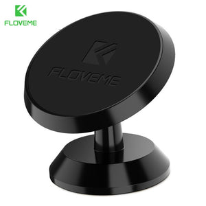 FLOVEME 360° Degree Universal Magnetic Dashboard / Vent Car Holder / Mount - iPhone, Android, GPS, Smartphones