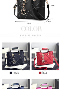 SDRUIAO Messenger Luxury Designer PU Leather Shoulder Hangbag - Ladies / Women's, Formal / Casual