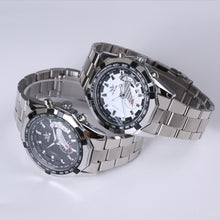 SEWOR Luxury Brand Skeleton Automatic Mechanical Military / Sports Style Watch - Men / Gents, Stainless Steel