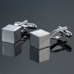 Luxury Laser High Quality Engraved Men's / Gents Cufflinks - 18 Different Styles, Formal, Casual