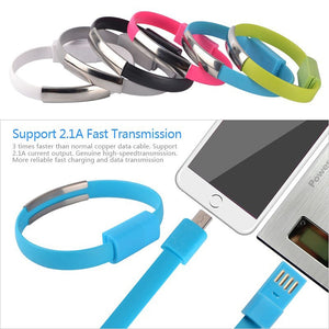 ANENG Micro USB Bracelet  / Charger & Data Cable for Android, iPhone, Type C