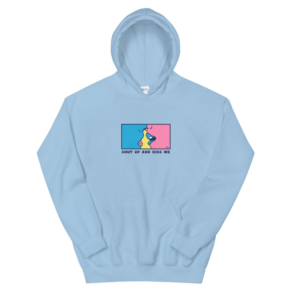 Shut Up and Kiss Me Hoodie / Multi color