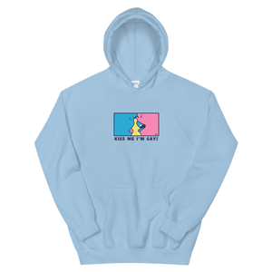 🏳️‍🌈Kiss me Im gay Hoodie🏳️‍🌈 / multi colors