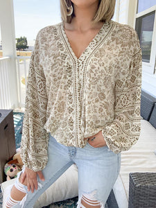 So Amazed Floral Top