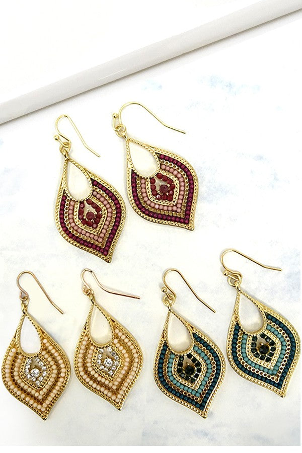 Los Angeles Chic Earring {MULTIPLE COLORS}