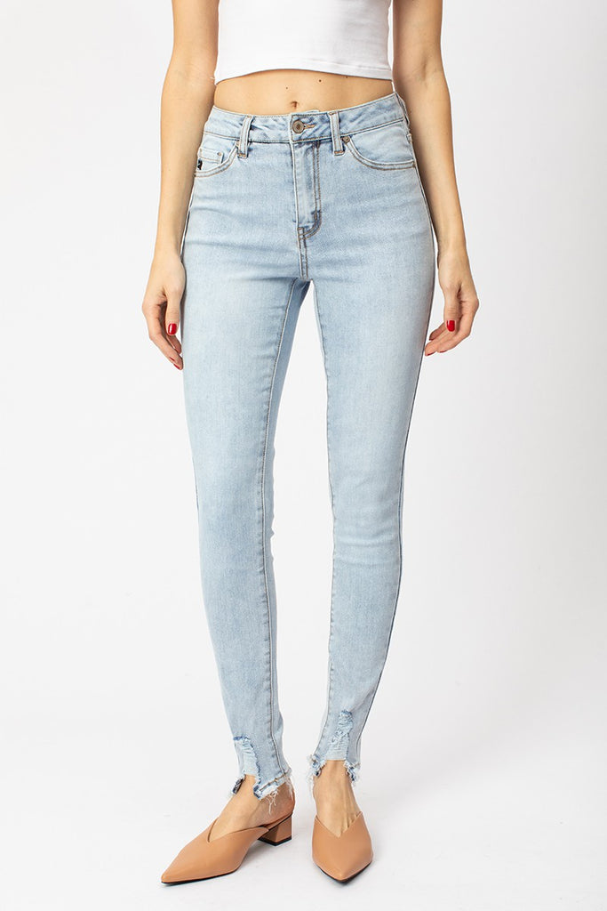 Clara High Rise Super Skinny Denim