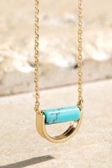 Tessa Stone Pendant Necklace